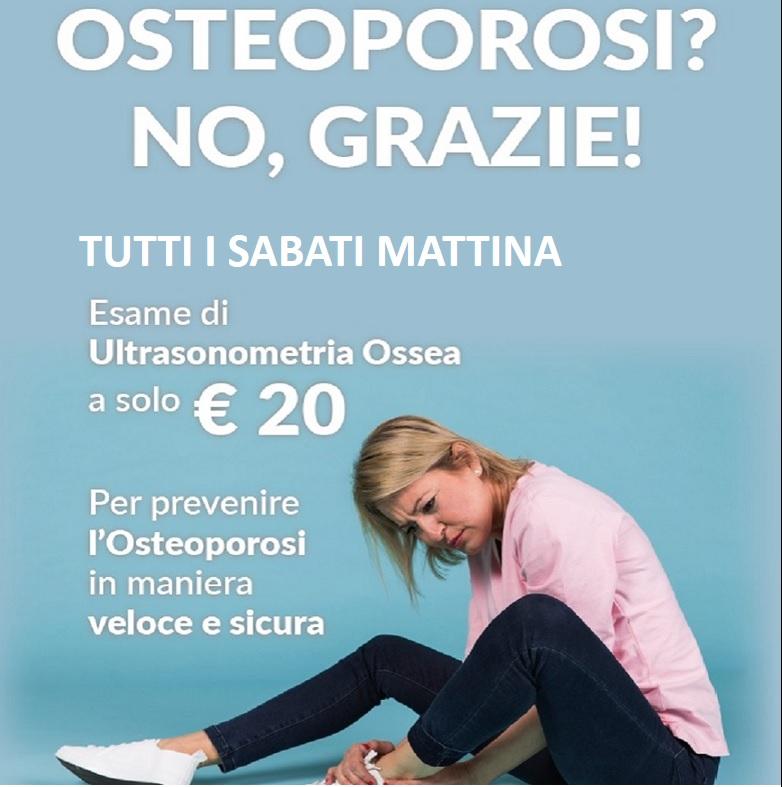 osteoporosi no grazie