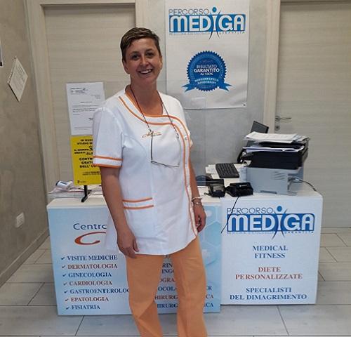 Assistente Clienti e Responsabile Segreteriadel Centro Medico Aloè
