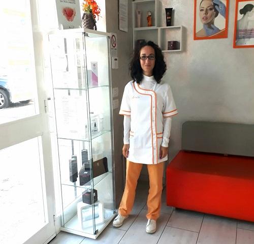 Ilaria Assistente Clienti e Responsabile Segreteriadel Centro Medico Aloè
