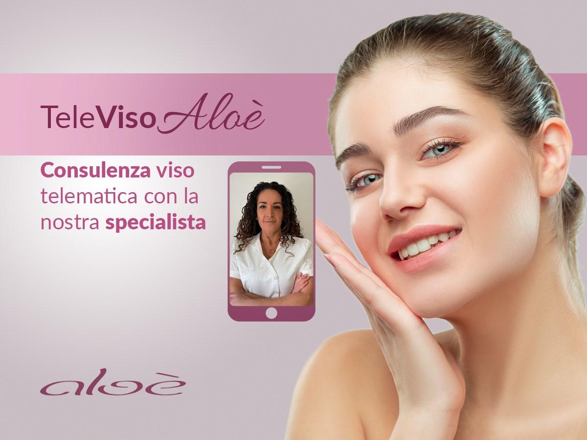 Consulenza gratuita viso - TeleVISOAloè - Studio Medico Aloè